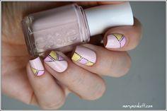 Géométrie - Mary Monkett #nail #nails #nailart