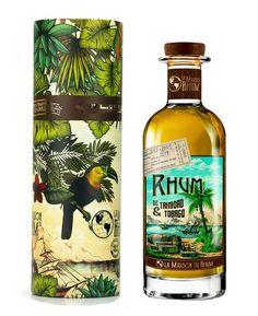 La Maison du Rhum from Trinidad & Tobago Bottle Packaging, Bottle Labels, Good Rum, Spirit Drink, Bacchus, Label Design, Packaging Design, Scotch Whisky, Wine And Spirits