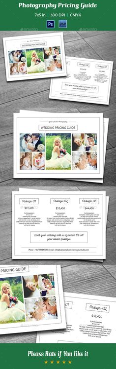 Photography Flyer Flyer template, Flyers and Photography - fashion design brochure template