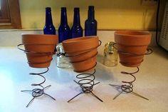 Sue Gerdes's Weeble pots