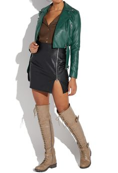 2a93b51b49dae3 PIPER THIGH-HIGH COMBAT BOOT - ShoeDazzle Thigh High Combat Boots