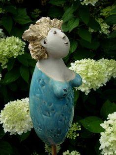Fräulein Klara von Landhausidyll-Gartenkeramik