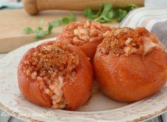 Pomodori ripieni di Riso e provola
