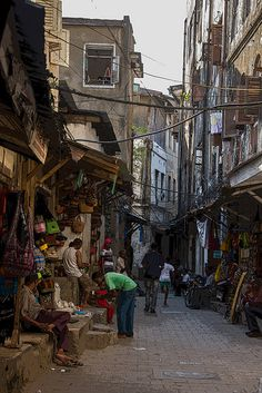 Zanzibar city, Tanzania. My driver, a long-time friend of my friends and a professional cab driver, escorted me to these places. I got a lot more respect than I would have as a woman alone. -Rose