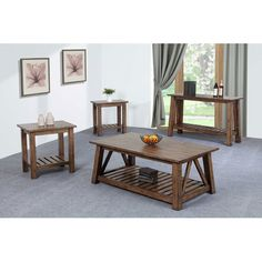 Found it at Wayfair - 4 Piece Coffee Table Set