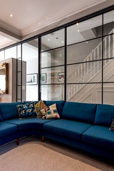 (Find out more by clicking on the image) Hall House, Crittall, Rear Extension, Construction Process, Light Architecture, North London, Outdoor Furniture, Outdoor Decor, Project Ideas