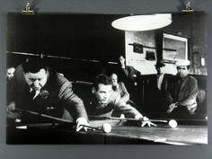 Paul+Newman+Billiard+Poster | ... Hustler, Paul Newman & Jackie Gleason Playing Billiards/ Pool, Poster