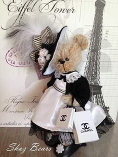 Paris by By Shaz Bears | Bear Pile❤ ❤ ❤