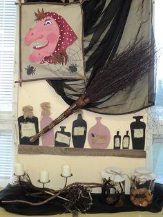 Čarodějnice 2014 - detail  (Witch - decoration)
