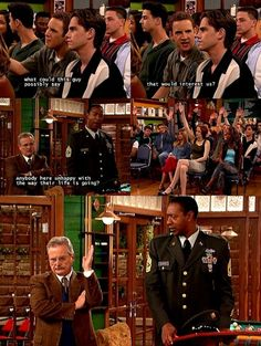 even feeny raises his hand lol!