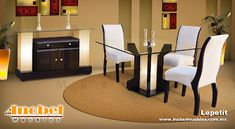 Muebles modernos Minimalistas: Comedores modernos minimalistas ...