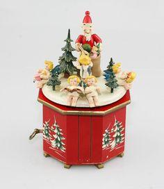 Rare & Vintage STEINBACH Musical Box with Thorens Movement - Alle Jahre Wieder