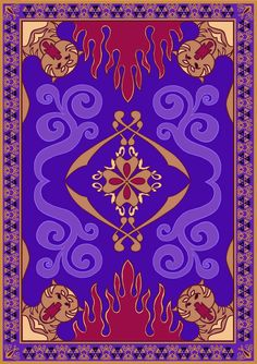 Magic Carpet - Aladdin. This artwork may be used for personal use but must not be applied to anything with commercial value unless you contact me directly. Thank you, and enjoy.
