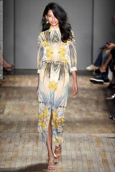 Jenny Packham (Spring-Summer 2015) R-T-W collection at New York Fashion Week  #AgataDanilova #AnnaFokina #AnnaPiirainen #CarolineMathis #CharlotteNolting #CristinaHerrmann #DariaPiotrowiak #ElizaHartmann #EmilyAstrup #FrancesCoombe #FridaMunting #GianYoo #GiulianaCaramuto #GraceMcGrade #JennyPackham #JiYoungKwak #NewYork #RiaSerebryakova #SerenaMarques #SigneRasmussen #SofiaFisher
