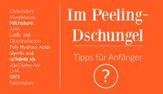 """Chemisches Peeling: Was ist """"zu viel"""" was ist """"zu oft""""?"""