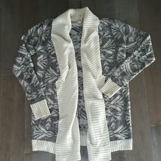 Oversized cardigan Great condition. Definitely could fit up to a size medium comfortably. Mudd Sweaters Cardigans
