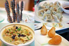 Your choice: sea cucumbers, vegetarian dumplings, tofu with black truffles or sweet pear-shaped dim sum... #chinesefood #food #foodme #china #TeamDP