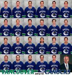 Vancouver Canucks : 2015-2016