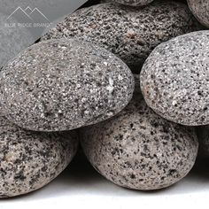 Blue Ridge Brand Lava Rock - Tumbled Lava Stones for Fire Pit - Black/Gray Volcanic Pebbles - Fire Glass Substitute - Landscaping Rocks Landscaping Around House, Landscaping With Rocks, Fire Pit Using Bricks, Flagstone Path, Planter Beds, Pumice Stone, Volcanic Rock, Landscape Fabric, Fire Glass