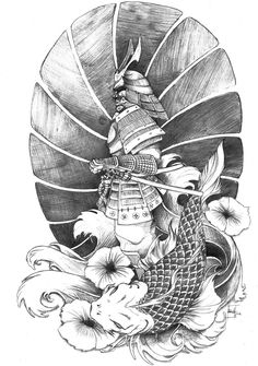 58 Most Populars Half Sleeve Tattoos for Men Men S Half Sleeve Tattoo Tattoo Ideas, by Kate Bird On Sleeve Japan Tattoo Design, Tattoo Design Drawings, Tattoo Designs, Japanese Tattoo Art, Japanese Sleeve Tattoos, Japanese Art, Japanese Dragon, Samurai Tattoo Sleeve, Koi Tattoo Sleeve