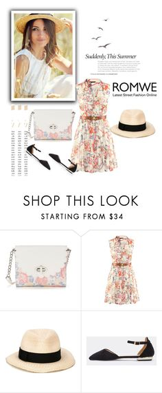 """""""Romwe1/II"""" by nermina-okanovic ❤ liked on Polyvore featuring Candie's, Eugenia Kim and romwe"""