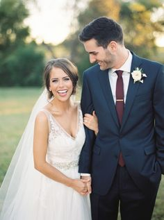 Classic Burgundy   Navy Fall Wedding