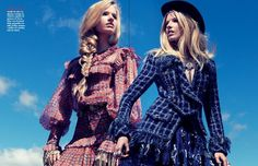 Louise Parker in CHANEL Pre Fall 2014 for Vogue Mexico August 2014 by Stockton Johnson