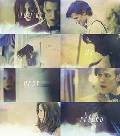 The Doctor + Amelia Pond