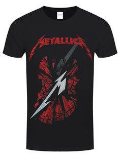 Metallica S&M2 Scratch Cello Black T-Shirt - Buy Online at Grindstore.com