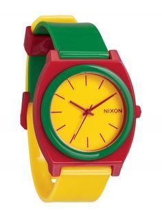 $92 Zegarek Nixon Time Teller P Rasta