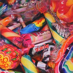 pick and mix - Sweet Dreams by Sarah Graham Sarah Graham Artist, Juan Sanchez Cotan, Gcse Art Sketchbook, Sketchbook Challenge, Memento, Candy Art, Eye Candy, Pick And Mix, A Level Art