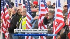 Oldest WWII Vet in the US Worried No One Would Come to His Funeral. This is What It Looked Like…