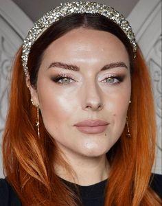Silver tiara nude lipstick makeup look by Katie Jane Hughes Makeup Trends, Makeup Inspo, Makeup Inspiration, Beauty Makeup, Makeup Ideas, Style Inspiration, Makeup Tips Eyeshadow, Eyeshadow Designs, Eye Makeup