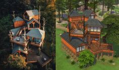 Sims 4 Houses Layout, House Layouts, Sims Building, Building Art, Sims Challenge, Cool Things To Build, Sims 4 House Plans, Sims 4 House Design, Casas The Sims 4