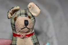 Vintage Measuring Tape Dog by TortoiseandtheHare on Etsy, $12.00
