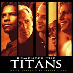 Remember The Titans  -JT and I were talking about how much we like this movie last night!