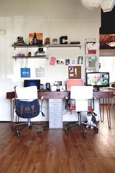 Spaces // John + Alex Choura | Eva Black Design