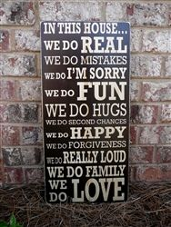 Sign I want for our dining room