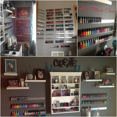 My Mani Cave  DIY nail polish racks