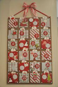 Honey We're Home: Christmas Craft- Advent Calendar