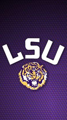 Lsu Tigers Football, Pro Football Teams, College Football, Catfish Festival, Iphone 6 Wallpaper, Phone Backgrounds, Louisiana State University, Football Wallpaper, Saints