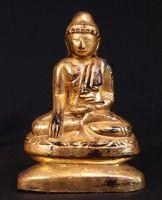 Antique limestone Buddha from Burma