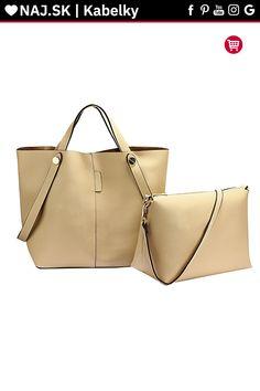 Trendy kabelka Netty béžová AG00198 Trendy, Shopper Bag, David Jones, Rebecca Minkoff, Zara, Fashion, Moda, Fashion Styles, Fashion Illustrations