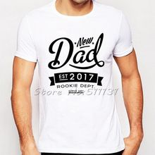 New Arrival Funny Best Dad 2017 T-Shirt Mens Casual Father's Day Dad T Shirt Summer Casual Short Sleeve Tee Tops Clothes Homme(China (Mainland))