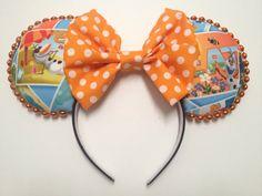 Handmade Mouse Ears  Summer Olaf by earsbydesign on Etsy, $25.00