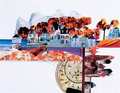 Autumn 35/25 collage  2010 M. Bojanowska