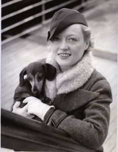 Marion Davies and Doxie