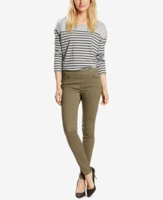 Levi's Skinny Perfectly Slimming Pull-On Jeggings - Green 12M