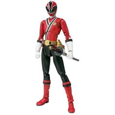 Power Rangers Samurai: Shinken Red Ranger (S.H. Figuarts) Action Figure ** Check out this great product. (This is an affiliate link) #ActionToyFigures