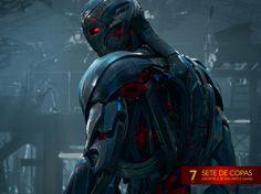 #Ultron está chegando! #Vingadores: Era de Ultron estreia dia 23 de abril nos cinemas brasileiros 7♥